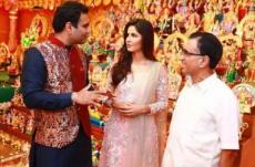 Katrina Kaif celebrates Navratri with south Indian stars photo