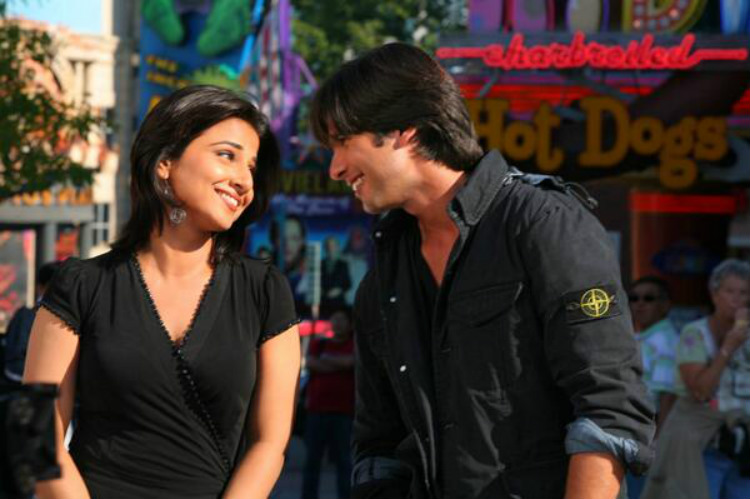 Vidya Balan and Shahid Kapoor in Kismat Konnection
