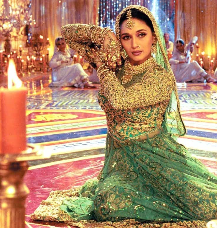 Madhuri Dixit in a still from Devdas