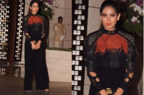 Mira Kapoor in a Saaksha and Kinni top