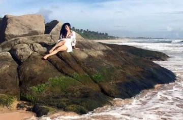 Mouni Roy's pictures from Sri Lanka
