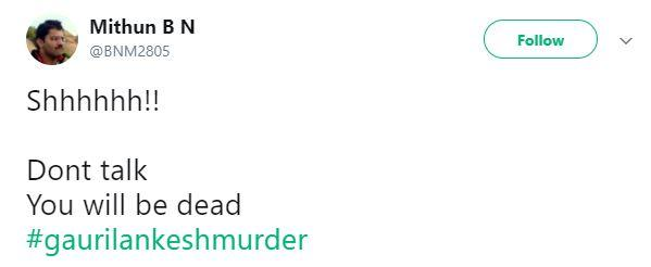 Gauri Lankesh murder