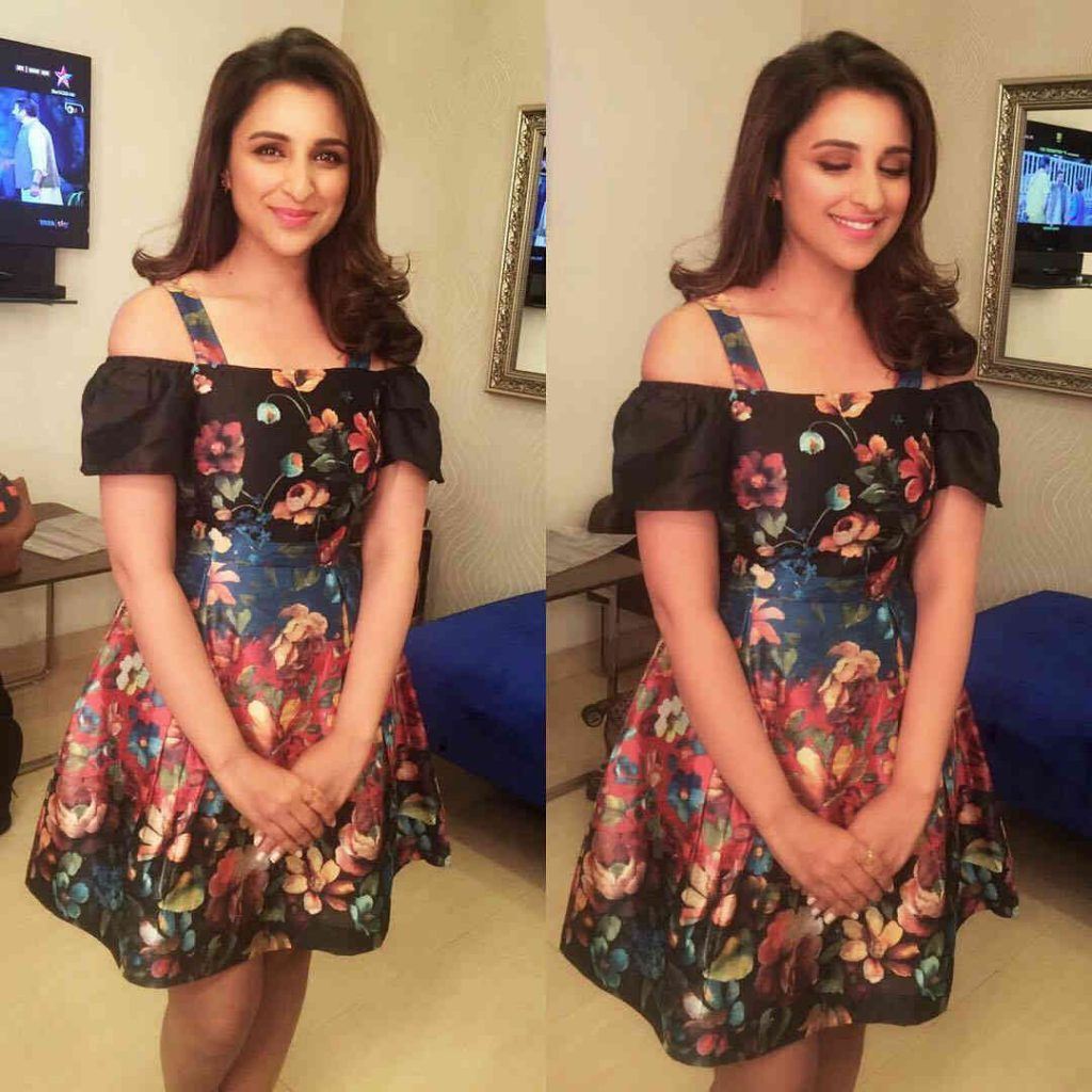 Parineeti Chopra in a Ritu Kumar dress