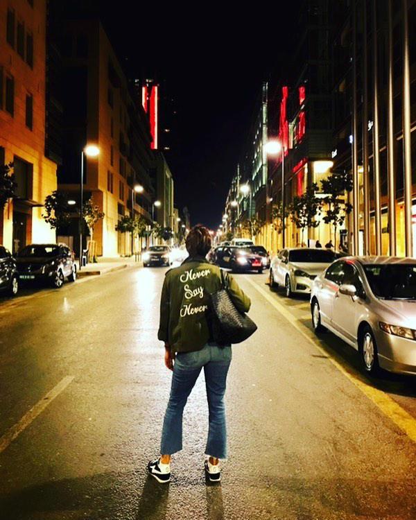 Priyanka Chopra in Alice and Olivia cargo jacket