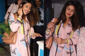 Priyanka Chopra in a Sanchita outfit
