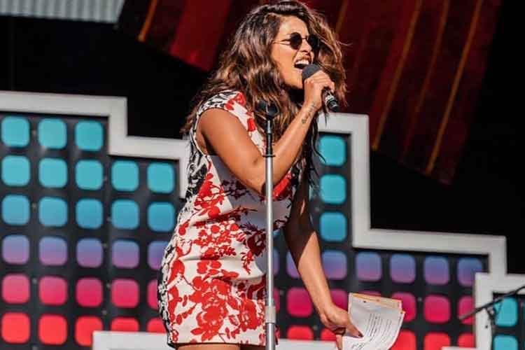 Priyanka Chopra hosts the Global Citizen Festival