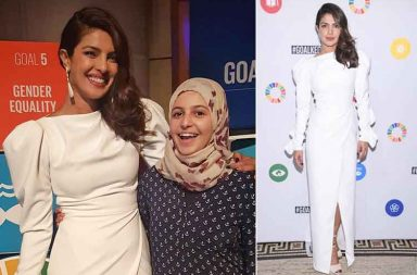 Priyanka Chopra at the UN Global Goal Awards