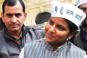 AAP leader Rakhi Birla