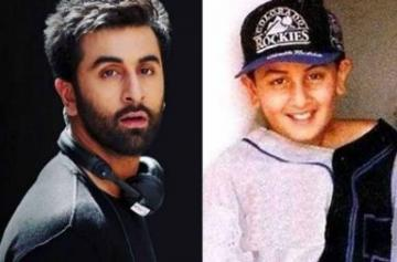 Birthday Special Throwback photo of Ranbir Kapoor