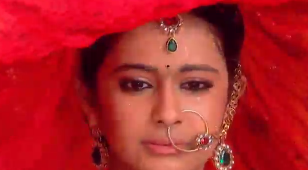 A still from episode which showed Roli's marriage