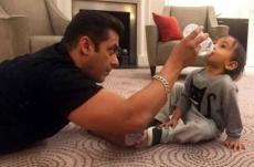 Cute photos of Salman Khan's nephew Ahil photo