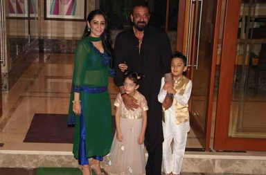 Sanjay Dutt's Eid party photo