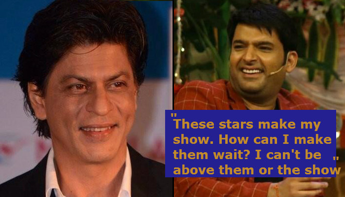 Shah Rukh Khan and Kapil Sharma, inuth.com