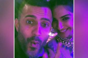 Sonam Kapoor and Anand Ahuja attend a wedding in London