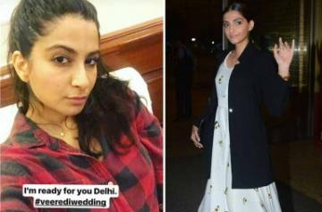 Sonam and Rhea Kapoor leave to shoot for Veere Di Wedding