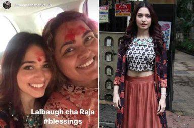 Ganesh Chaturthi 2017: Tamannaah Bhatia visits Lalbaugcha Raja photo