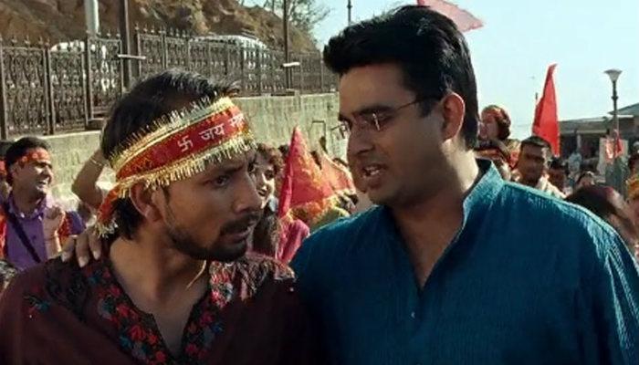 Pappi Ji and Manu in Tanu Weds Manu