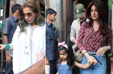 Twinkle Khanna on a lunch date with family