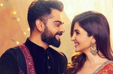 Virat Kohli and Anushka Sharma's latest ad shoot pic