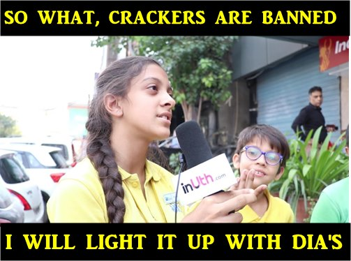 Kid speaks on SC's decision on ban on sale of firecrackers