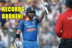 Virat Kohli equals AB de Villiers' unique record and breaks Ricky Ponting's record in 200th ODI
