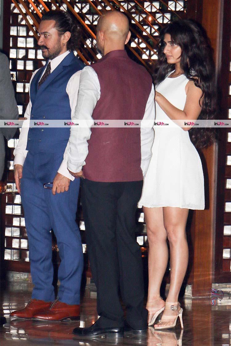 Aamir Khan at Ambani's party post MAMI film festival