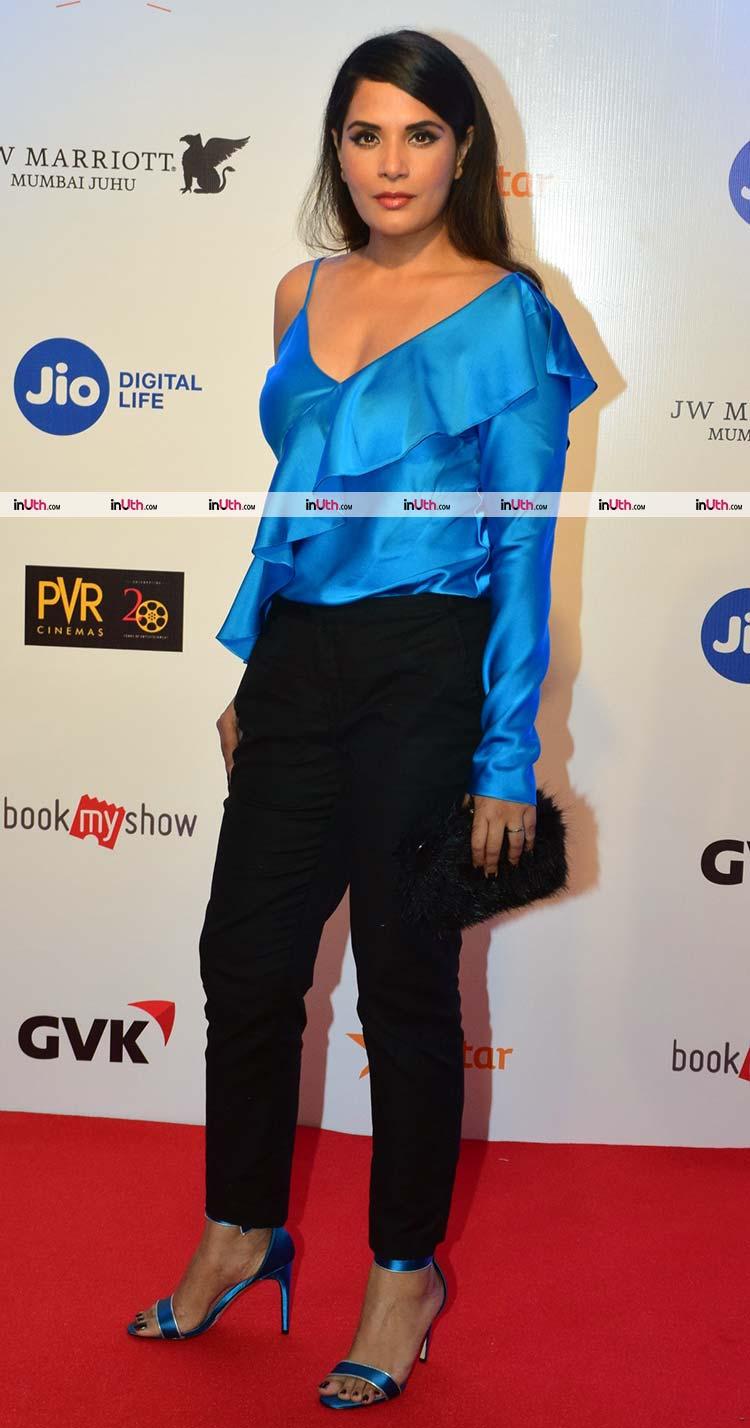 Richa Chadda at the red carpet of MAMI film festival 2017