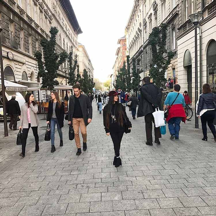 Krishna Mukherjee's beautiful pic from Budapest