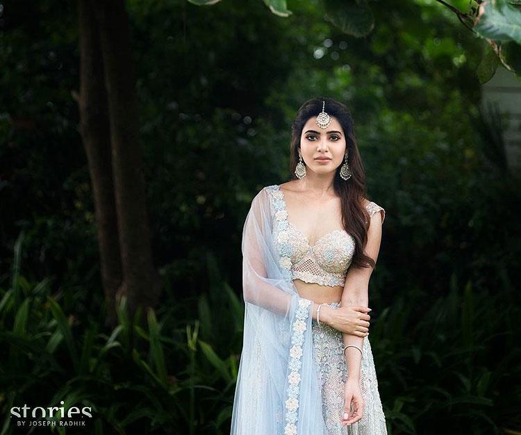 Samantha Ruth Prabhu dazzling like a diva in her pre-wedding shoot