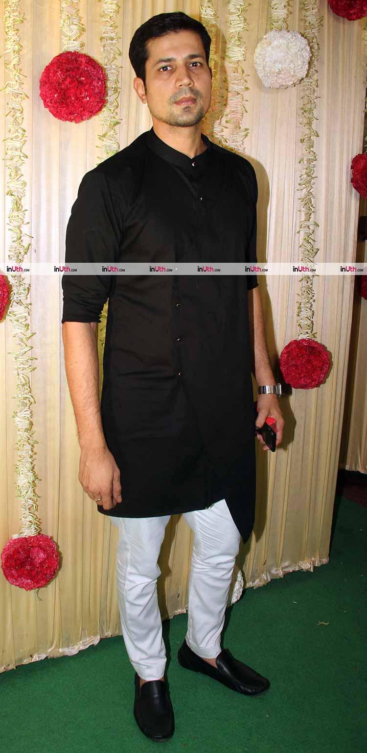 Sumeet Vyas at Ekta Kapoor's Diwali party