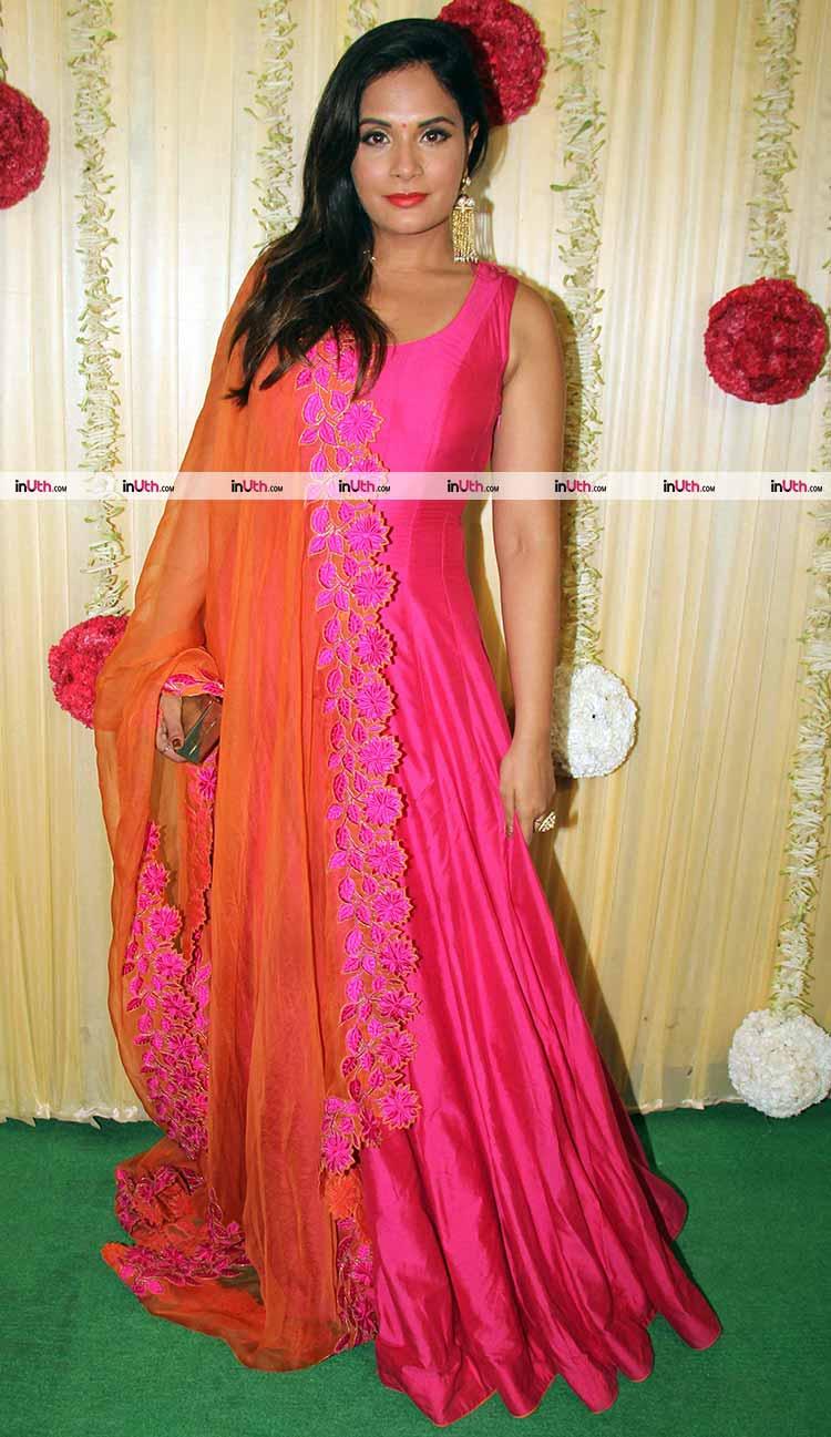Richa Chadda at Ekta Kapoor's Diwali party
