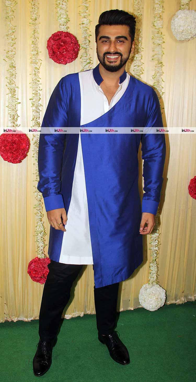 Arjun Kapoor at Ekta Kapoor's Diwali party