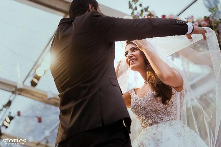 Samantha Ruth Prabhu looks really happy in her wedding pics