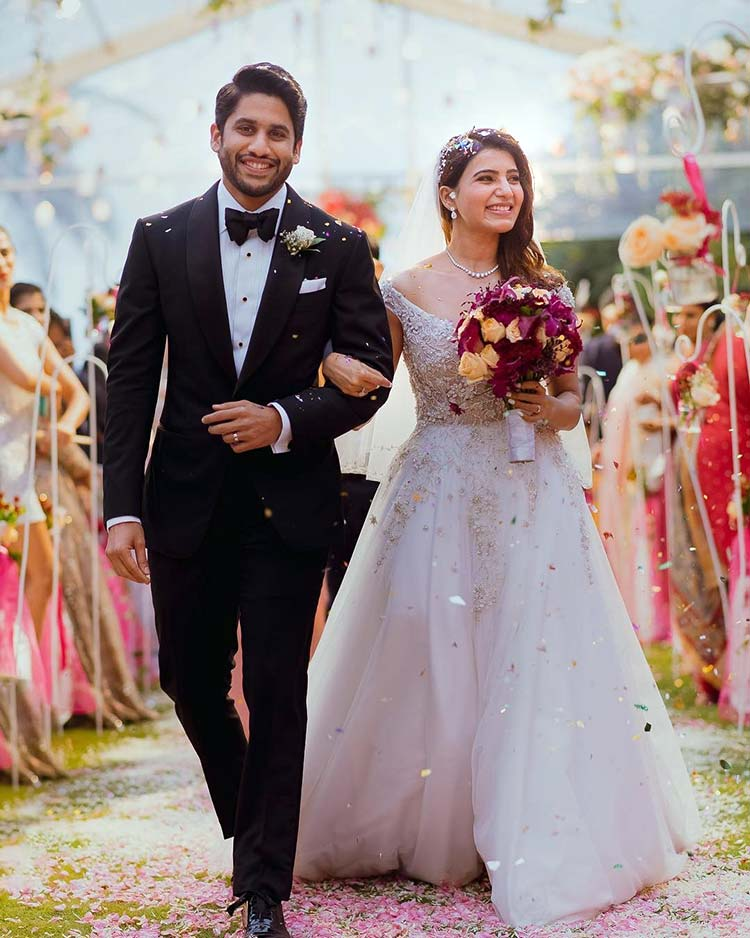 Samantha Ruth Prabhu and Naga Chaitanya's Christian wedding