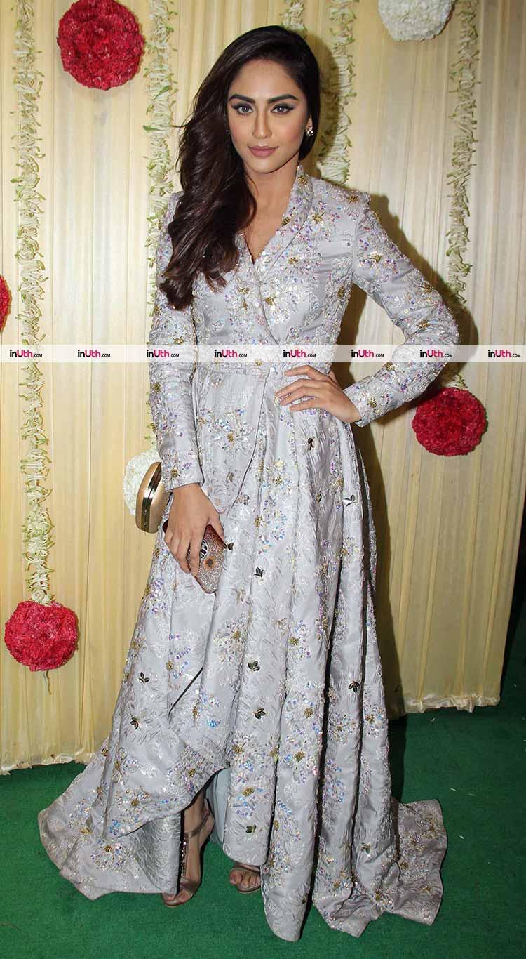 Krystle D'Souza at Ekta Kapoor's Diwali party