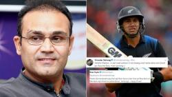 Ross Taylor uses HINDI to troll Virender Sehwag for his 'Darji' comment! Its HILARIOUS