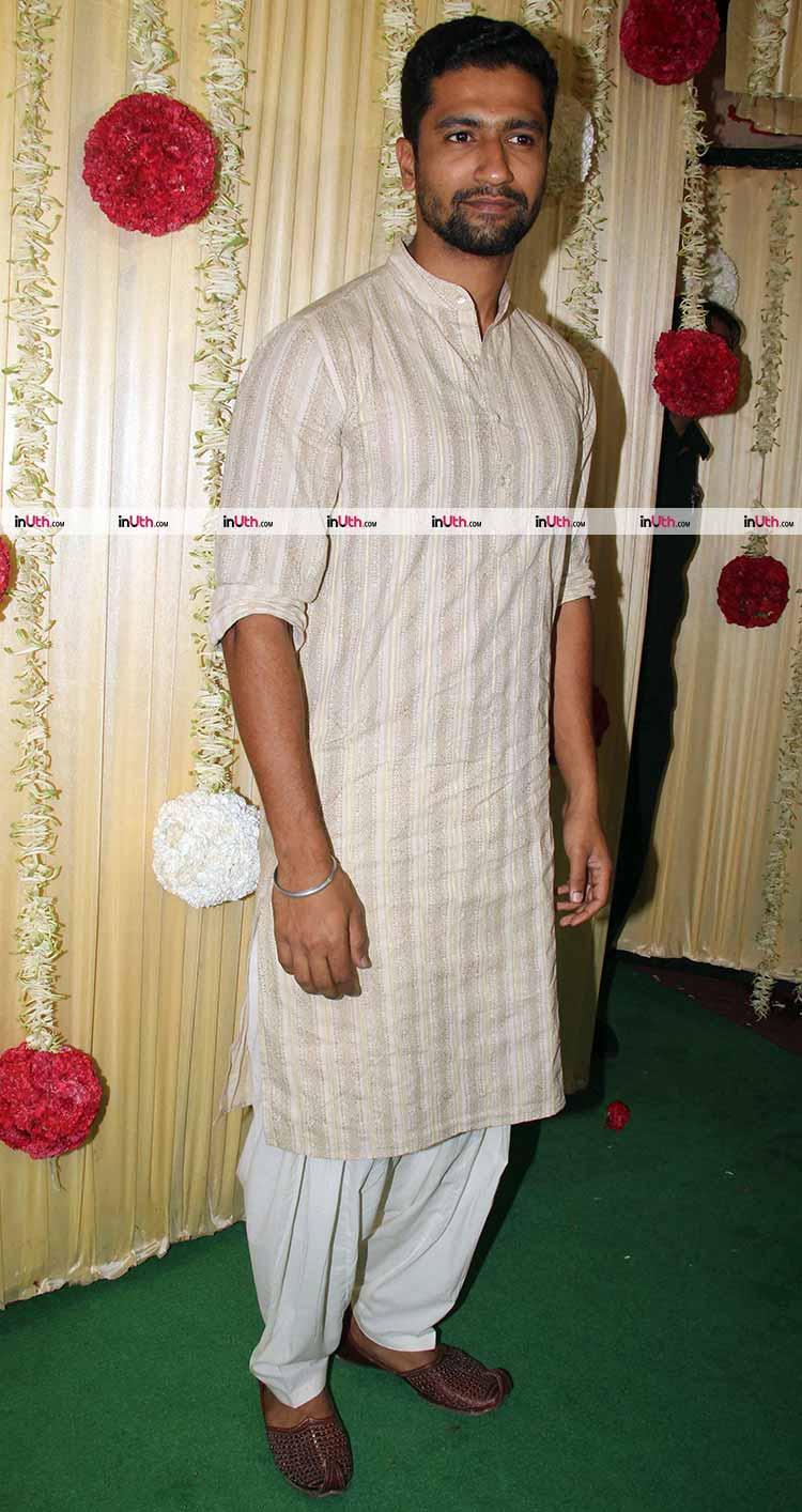 Vicky Kaushal at Ekta Kapoor's Diwali party