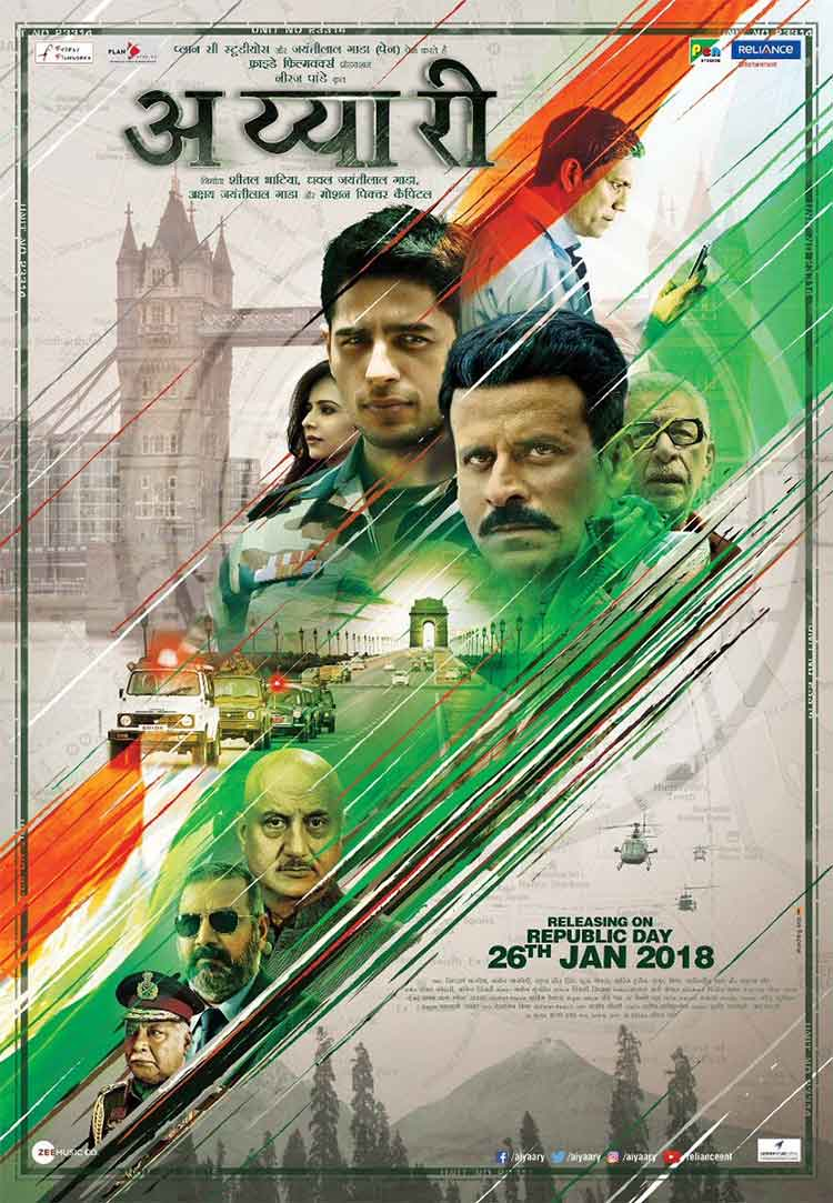 Aiyaary new poster features its stellar cast in intriguing looks