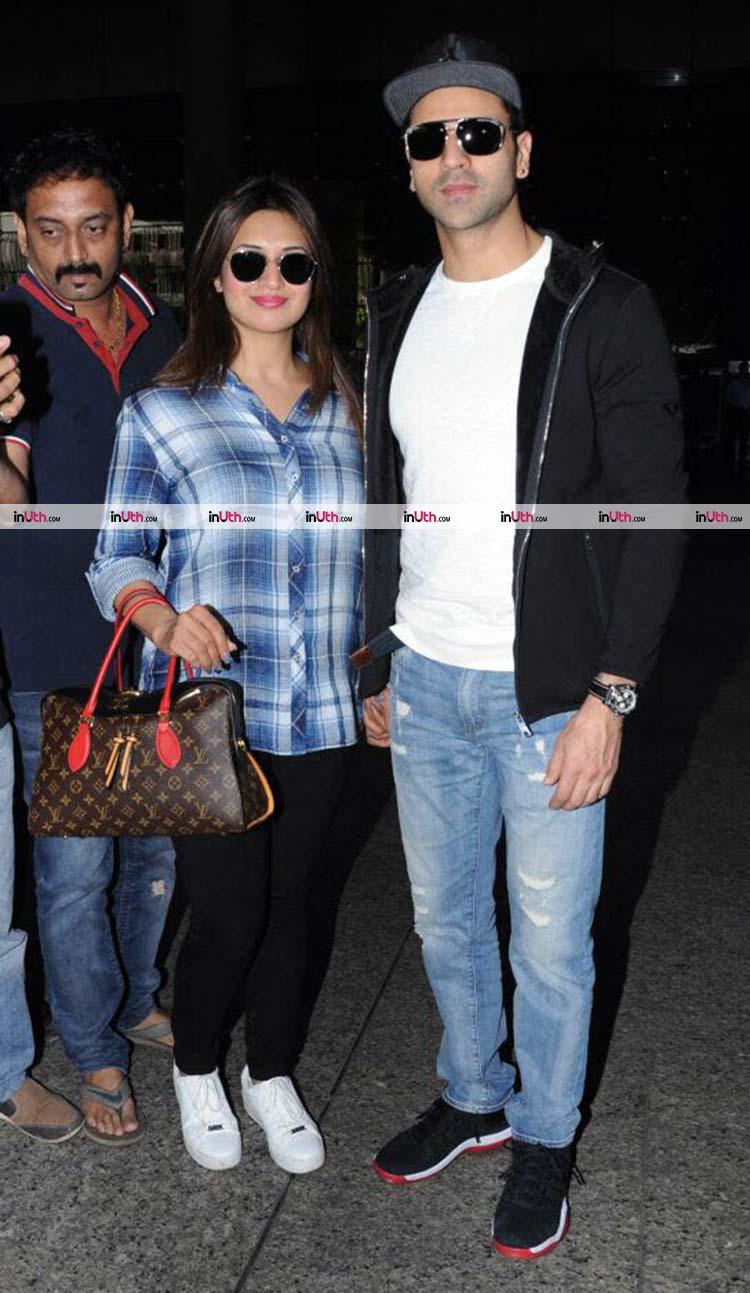 Divyanka Tripathi and Vivek Dahiya return from Budapest