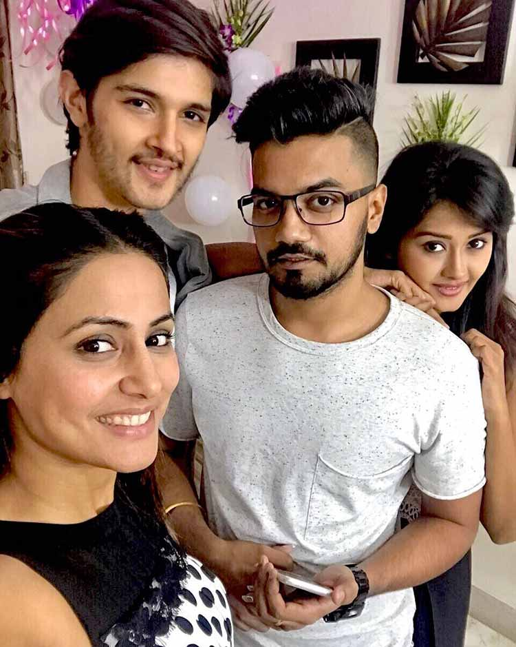 Hina Khan's pre-birthday celebrations with her friends