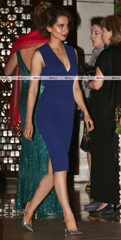 Kangana Ranaut attends Ambani's party post MAMI film festival