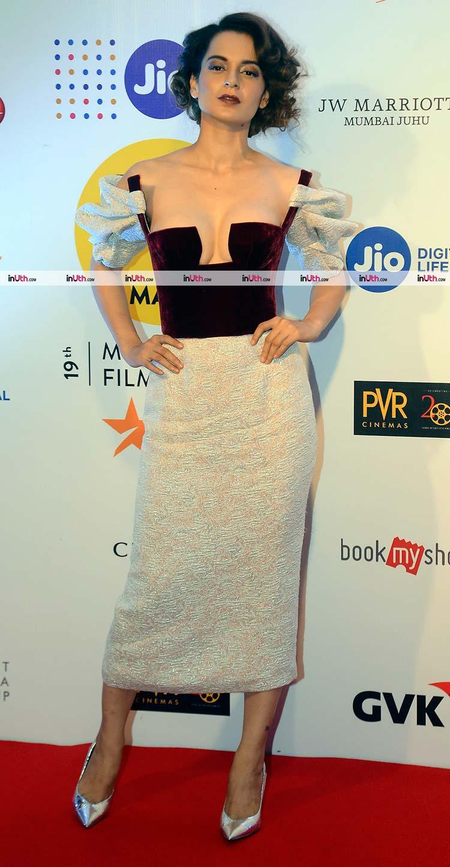 Kangana Ranaut goes risky on the MAMI 2017 red carpet