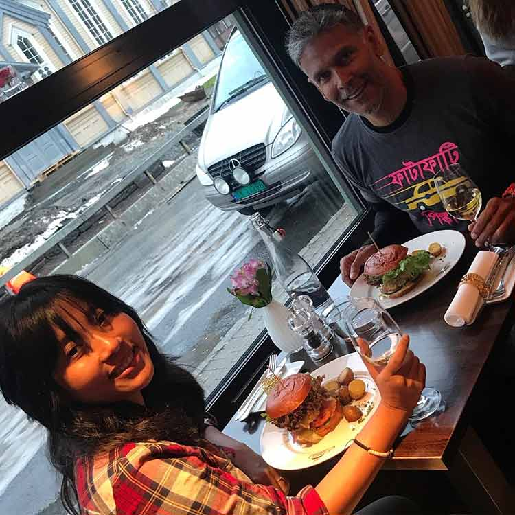 Milind Soman and Ankita Konwar are having the vacation of our dreams