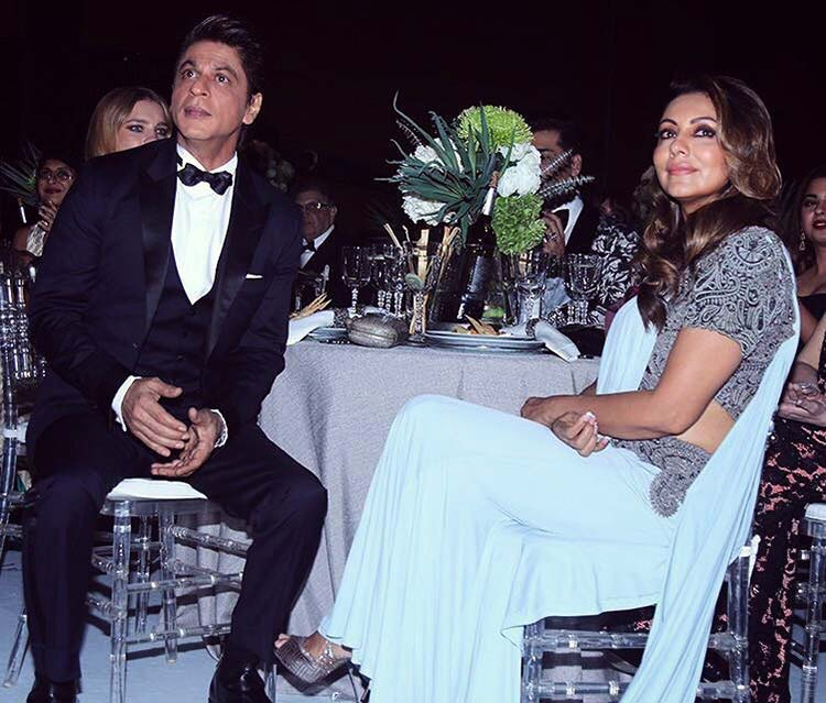 Shah Rukh and Gauri Khan celebrate their 26th wedding anniversary today