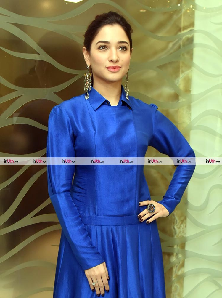 Tamannaah Bhatia looks beautiful in blue