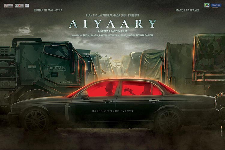 The first look poster of Aiyaary looks thrilling