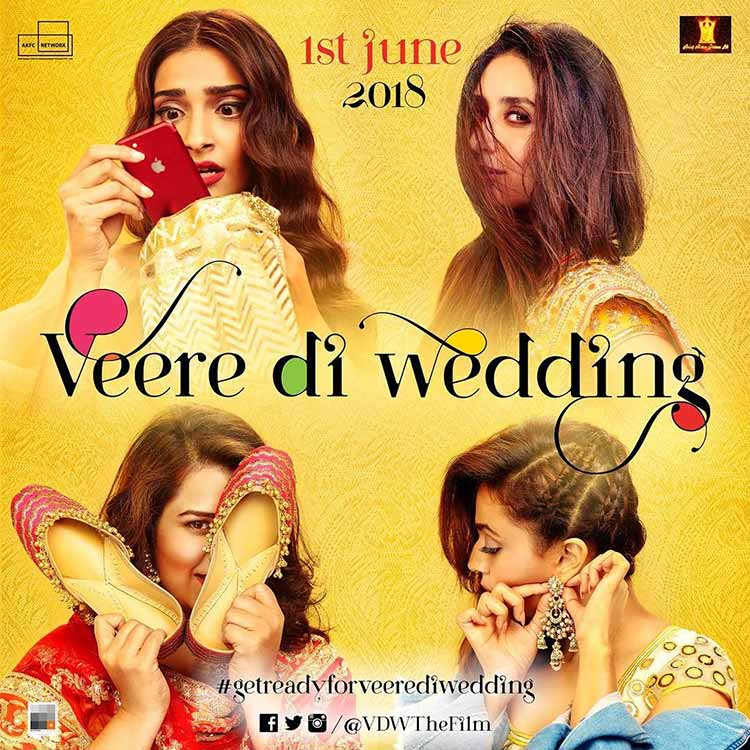 The latest poster of Veere Di Wedding poster reveals the release date