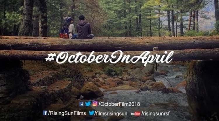 Varun Dhawan and Banita Sandhu give a sneak peek to October