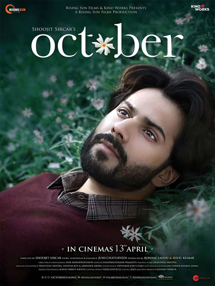 Varun Dhawan looks amazing in this new poster of October