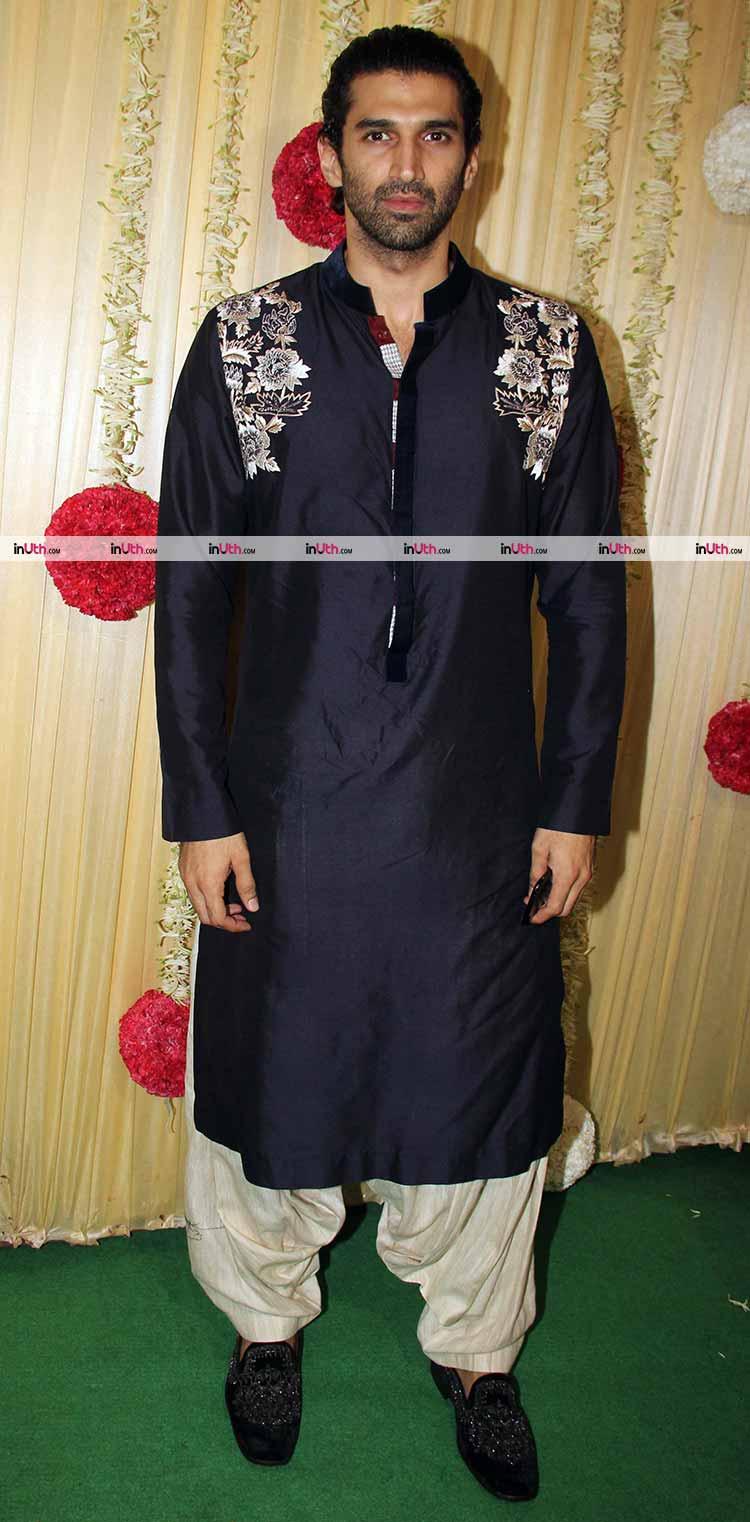 Aditya Roy Kapur at Ekta Kapoor's Diwali party